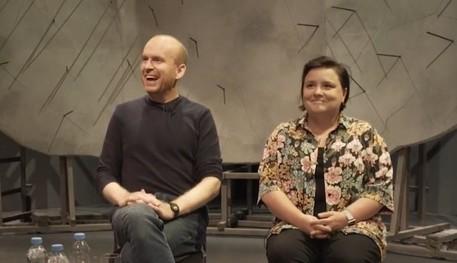 Matt Haig and Susan Calman are smiling