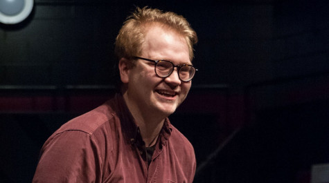 Photograph of Sheffield Theatres' 'Agent for Change', Ben Wilson