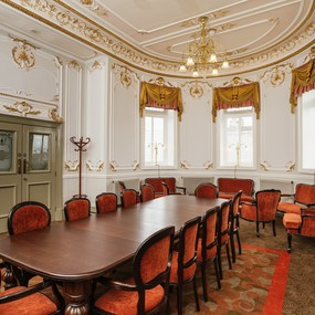 The MacDonald Room in the Lyceum, our private bar