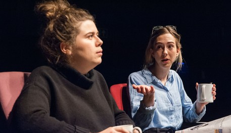 Company of Signals during Sheffield Theatres' Making Room Studio takeover event
