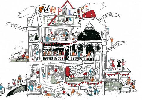 Logo for Fun Palaces