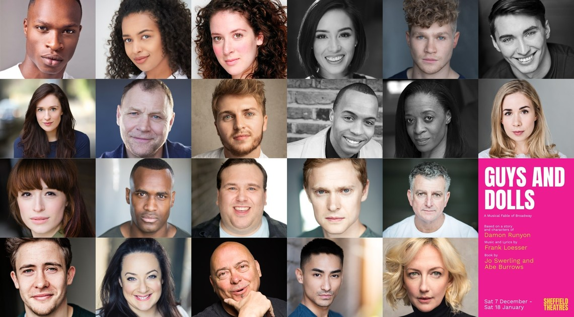 Hope At Christmas Cast.Guys And Dolls Cast Announced Sheffield Theatres