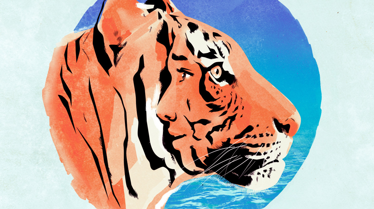Artwork for Sheffield Theatres' production of The Life of Pi