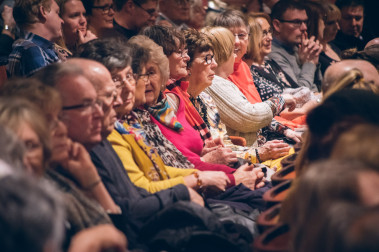 Photo of some audience members at Sheffield Theatres